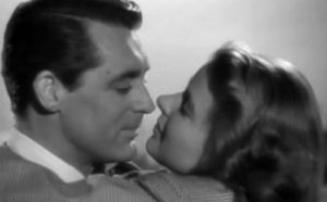 Grant and Bergman in Notorious