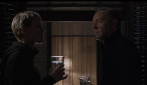 Frank and Claire Underwood, the creepy power couple