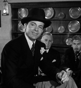 Dana Andrews playing the suave Joe Lilac