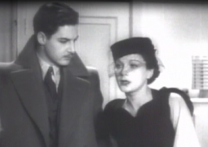 Hannay (Robert Donat) and the spy